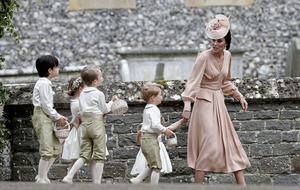 You can take kids nowhere – not even Pippa Middleton's wedding