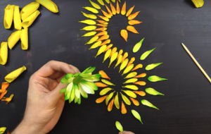 This guy's awesome flower petal art will soothe and entertain you