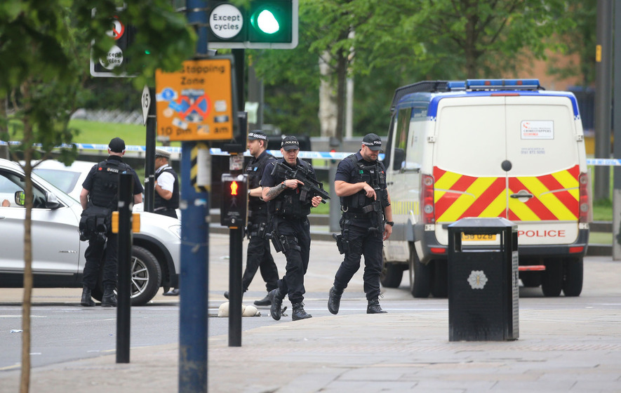 Man arrested over Manchester terror attack at Ariana Grande concert