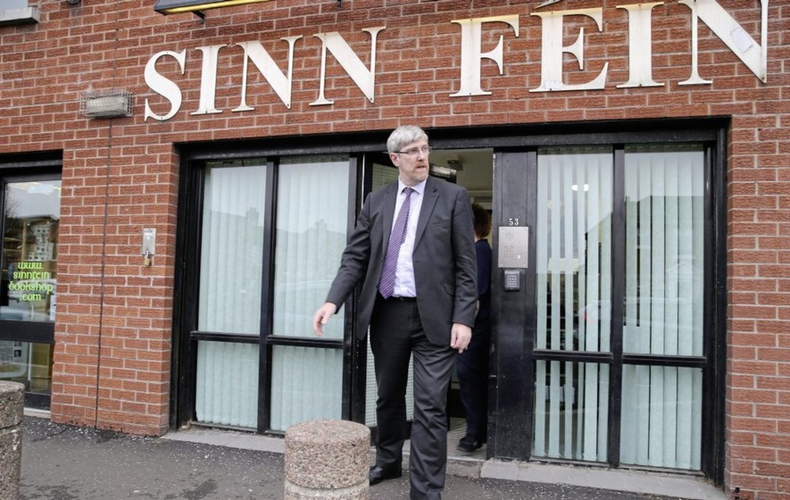 Sinn Féin election workers told to 'get out' of Portadown as police investigate suspected hate crime