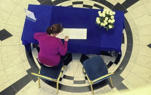 Books of condolence opened in towns and cities across Ireland