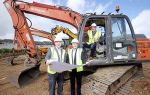 Hagan Homes breaks ground on £9.5m Ballyclare housing development