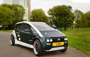 Is an electric car made from plants the future of sustainability?
