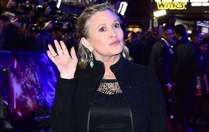 British Star Wars fans really want to get their hands on Carrie Fisher magazine cover