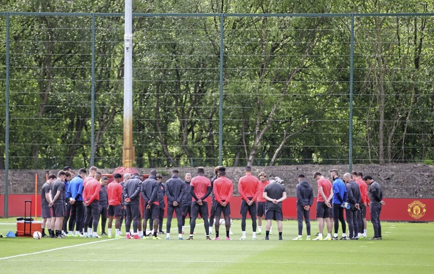Manchester United boss Jose Mourinho thinking of attack victims ahead of Europa League final