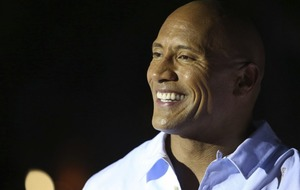 Dwayne Johnson shows he's come far as he recreates THAT embarrassing 90s picture