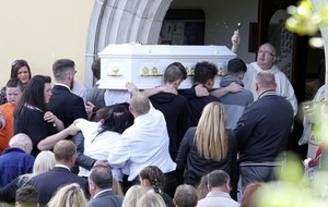 Funeral held for Co Armagh schoolgirl Caitlin White