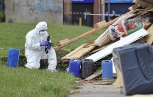 Child in critical condition after hazardous substance dumped at bonfire site