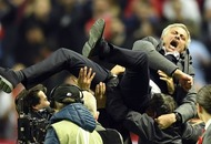 We can't remember the last time we saw Jose Mourinho this happy