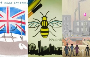 See all the beautiful Manchester artwork being shared in tribute to the city and its victims