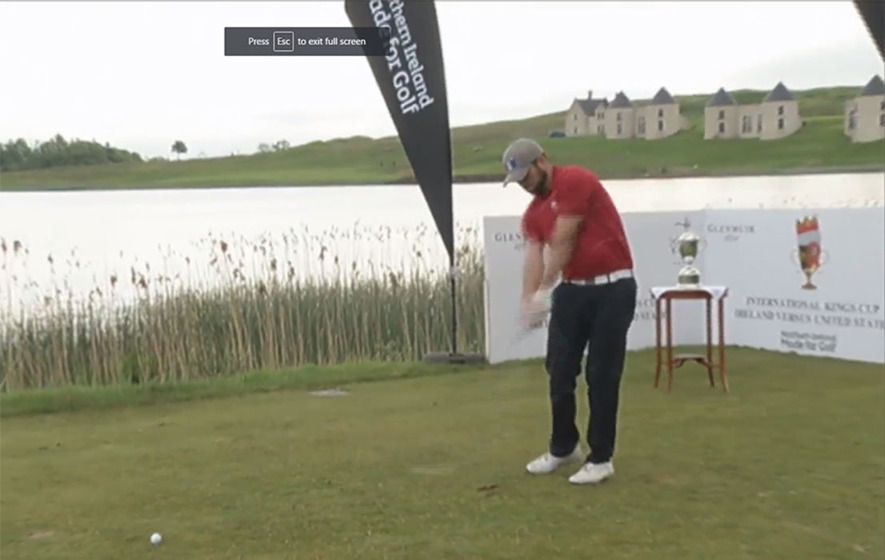 Video: King's Cup golf at Lough Erne