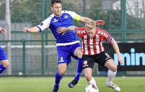 Derry City's Nicky Low has high expectations ahead of Drogheda trip