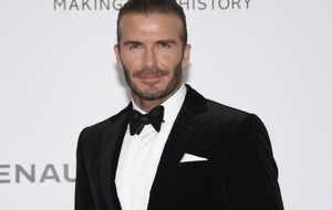 David Beckham and Nicole Kidman among A-list stars at Aids fundraiser in Cannes
