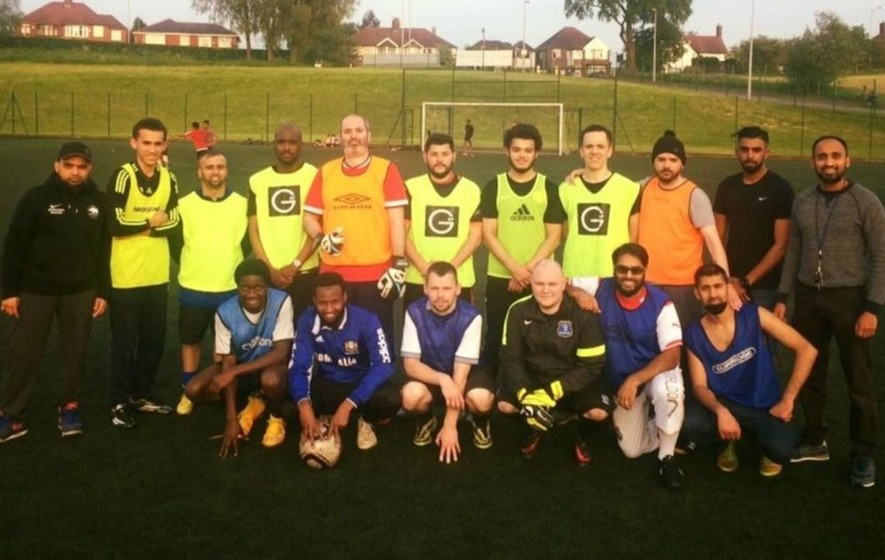 Meet the Deaf Rhinos: The football team offering a community for deaf people