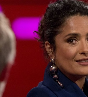 I thought husband was cheating when I heard sexy phone voice, says Salma Hayek