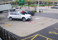 Brave woman jumps onto the bonnet of her car to stop a carjacking