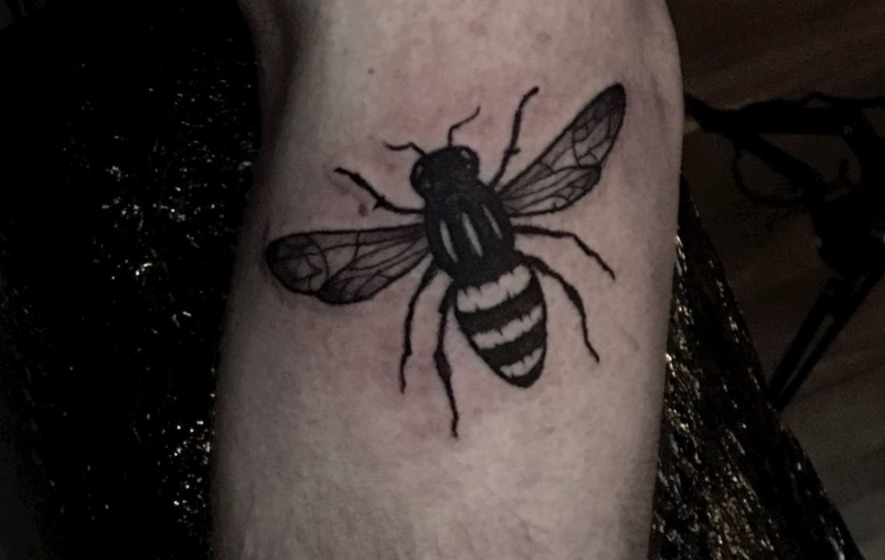 Everything you need to know about the manchester bee for Bee tattoo manchester