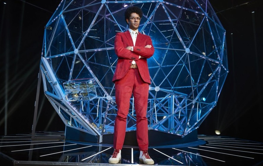 First look at Richard Ayoade as the host for The Crystal Maze