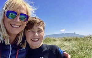 A boy's perspective on his mum's breast cancer journey