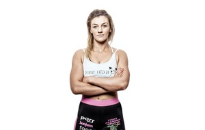 MMA champ Leah McCourt: All I do is train and sleep. It's a tough life.