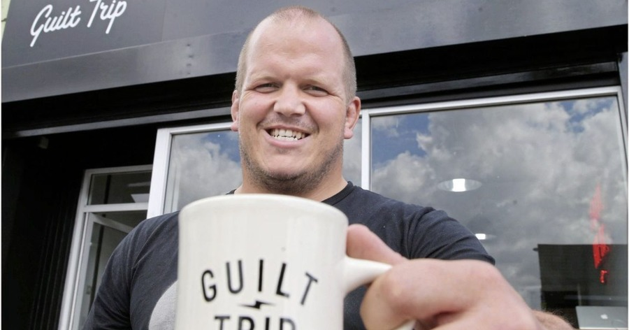 Ulster Rugby Stars Behind New Guilt Trip Coffee Shop In East