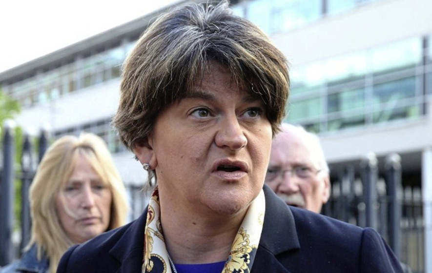 Sinn Féin accuse DUP of arrogance after Arlene Foster says there will be no border poll in her lifetime