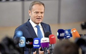 Trump backs view Brexit is an 'incident', not a trend, says Tusk