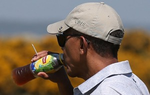 Just sit back and enjoy watching Barack Obama having a round of golf in Scotland