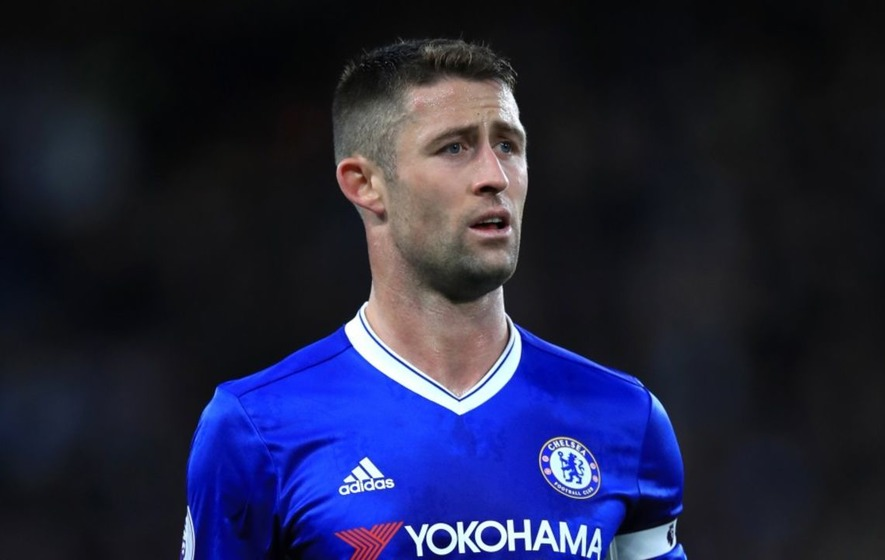 Chelsea fans heap praise on Gary Cahill for 'unbelievable' goal-line clearances against Arsenal in FA Cup final