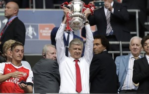Arsene Wenger just became the first manager to win the FA Cup seven times