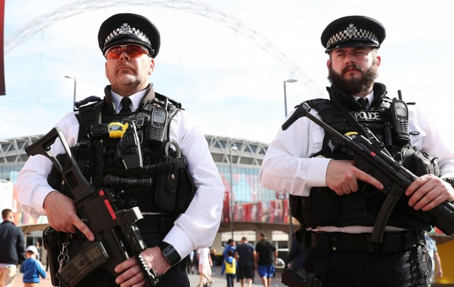 How the UK's terror threat level affected key weekend events across the country