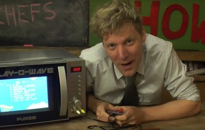 YouTuber Colin Furze's microwave gaming console is the kitchen gadget you didn't know you needed