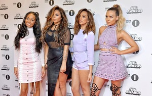 Little Mix get Down and Dirty after singer swears on stage