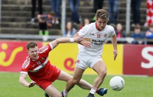 Derry battle but can't close the gap as Tyrone win again at Celtic Park