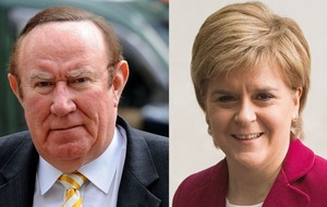 Nicola Sturgeon was grilled over what she would do in the event of a hung parliament on The Andrew Neil Interviews