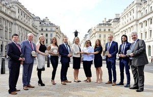 Magnificent seven firms flying high at Aer Lingus Viscount Awards