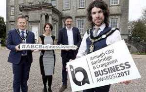 Finalists revealed for Armagh City, Banbridge & Craigavon Borough Council's inaugural business awards