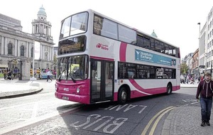New bus lanes during rush hour on main route into Belfast