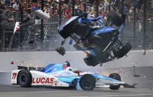 This Indy 500 crash is horrific but somehow the driver walked away