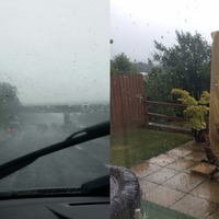 Absolutely no-one is surprised that rain has hit on Bank Holiday Monday