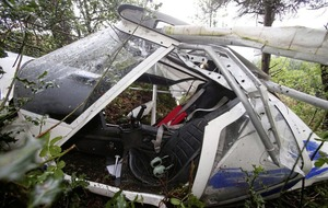Video: Woman and man walk away from Co Down plane crash