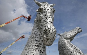 First health check for 30m high equine sculptures