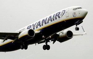 Ryanair posts rise in profits but warns of 'Brexit developments'