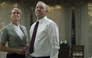 Series five of House Of Cards is here and fans are  hoping for an antidote to the Trump White House