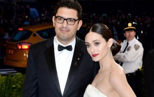 Shameless star Emmy Rossum has tied the knot with Mr Robot creator Sam Esmail