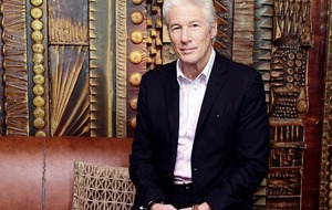 Actor and activist Richard Gere says making movies is his job, not his life