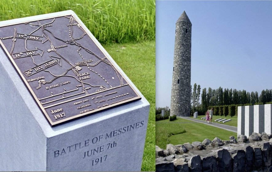 Remembering the men from Ireland who fought side by side at Messines