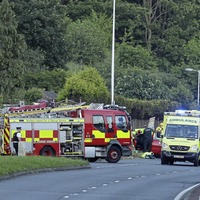 Man injured in serious crash outside Belfast