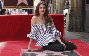 Keri Russell receives a star on Hollywood Walk of Fame