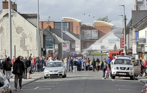 'People's livelihoods' under threat after blaze in Ballymena town centre